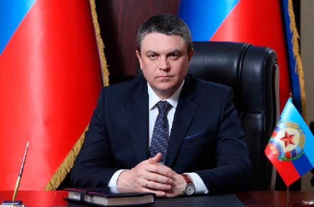 Лидер ЛНР готов встретиться с Зеленским на линии соприкосновения