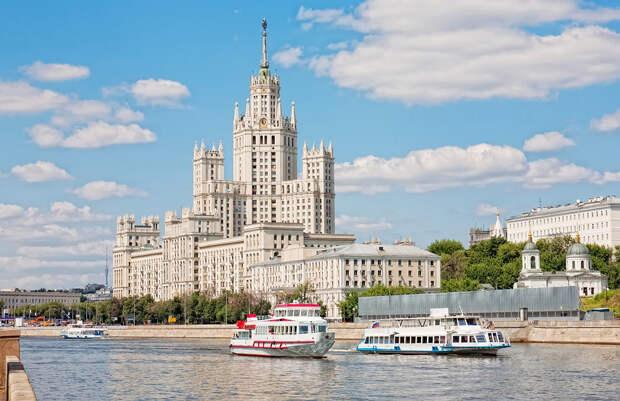 Самые красивые жилые дома Москвы (ФОТО)