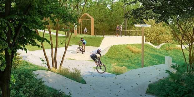 В парке «Яуза» появится спортивный кластер