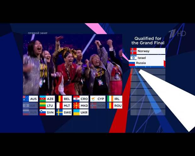 Манижа расплакалась на «Евровидении» и пробилась в финал