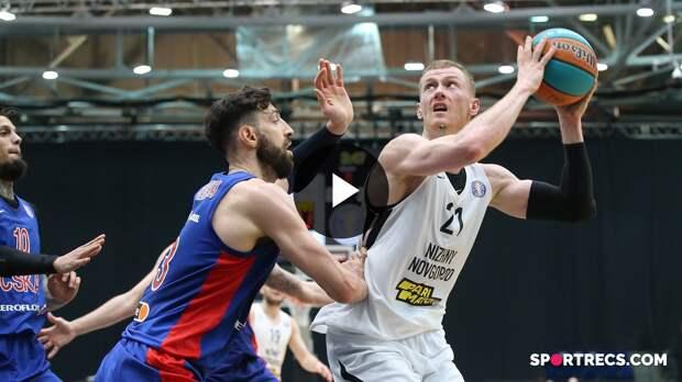 Nizhny Novgorod vs CSKA Condensed Game Quarterfinals Game 2   Season 2020-21