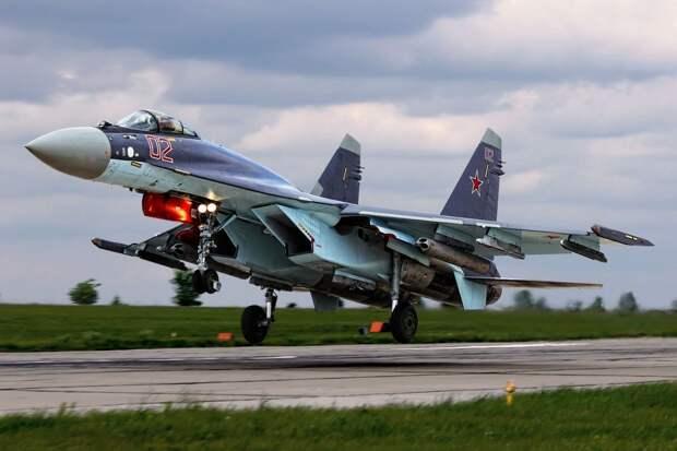 Истребитель Су-35, Россия. Источник изображения: https://e-news.su