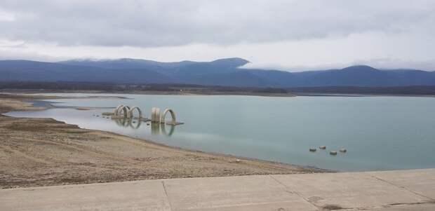 Чернореченское водохранилище пополнилось до 25 млн кубометров
