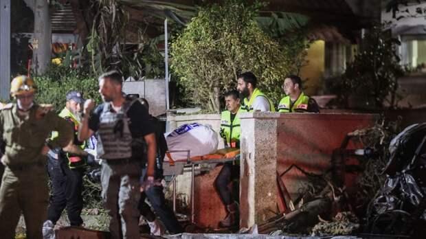 Человек погиб при обстреле из сектора Газа в израильском городе Лод