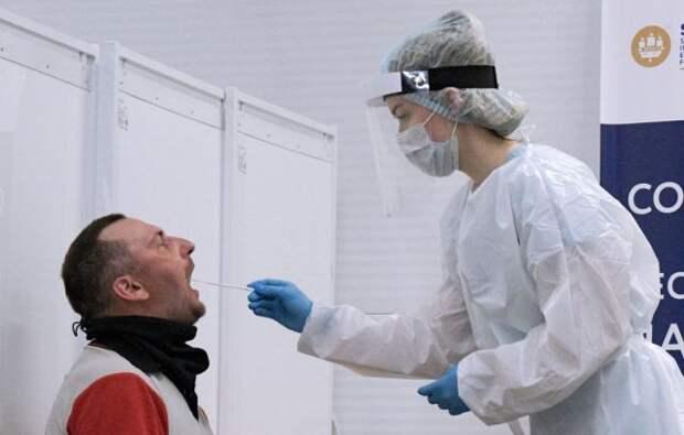 В РФ за сутки выявили 9 289 случаев COVID-19