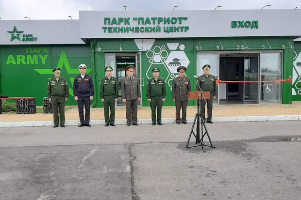 """В парке """"Патриот"""" открыли обновленную экспозицию бронетанкового музея"""