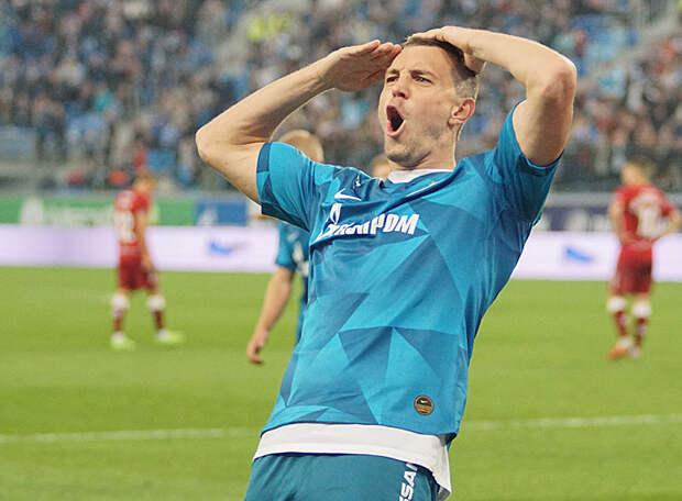 Игрок «Зенита» попал в число пяти номинантов на звание «Спортсмен года»