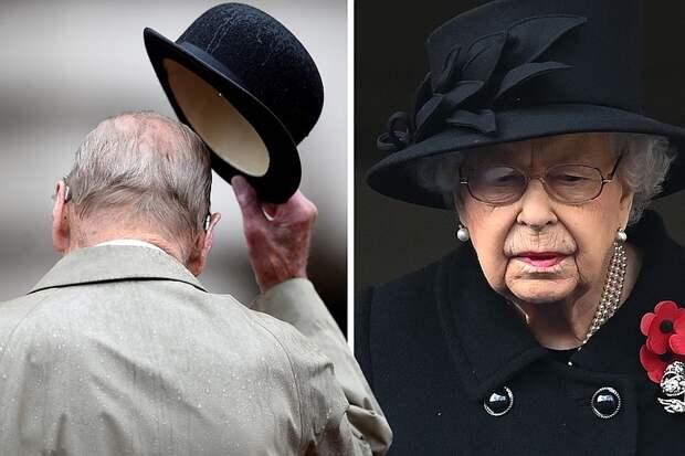 Елизавета II прощается с принцем Филиппом. Прямая онлайн-трансляция королевских похорон
