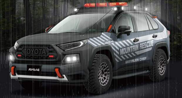 Toyota представит прототип спасательного внедорожника на базе RAV4