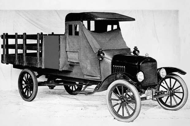 Ford Model TT, 1918 год. /Фото: trucks.com