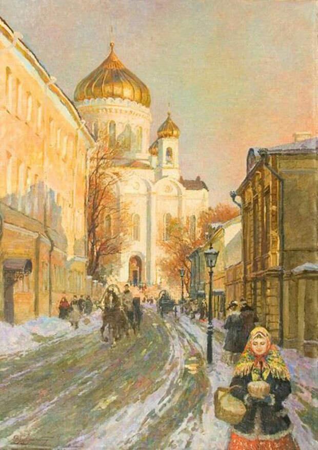 Источник: obiskusstve.com. Владимир Первунский «Перед Пасхой» (ХХ век)