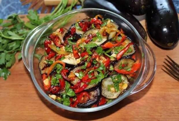 Салат из баклажан с секретиком. Баклажаны приобретают незабываемый вкус 2