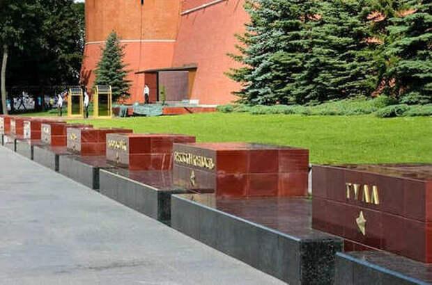Сколько в России Городов воинской славы