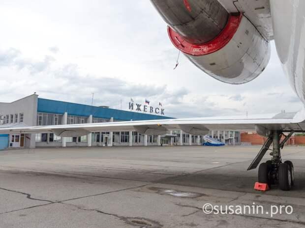Аэропорт Ижевска принял рекордное с начала пандемии число пассажиров