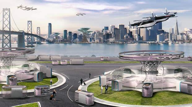 Развитие частного летающего транспорта изменит и вид городов