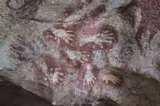 Глобальное потепление разрушает древнейшую наскальную живопись