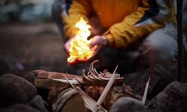 Егерь рассказал о четырёх способах, с которыми можно развести огонь без единой спички