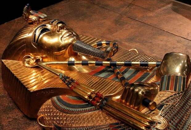 Египетский фараон Тутанхамон