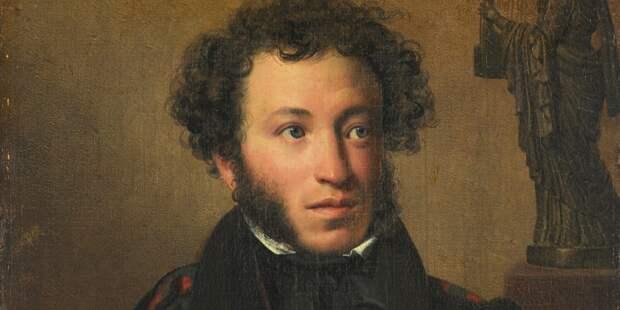 О. Кипренский. Портрет А. С. Пушкина. 1827 год