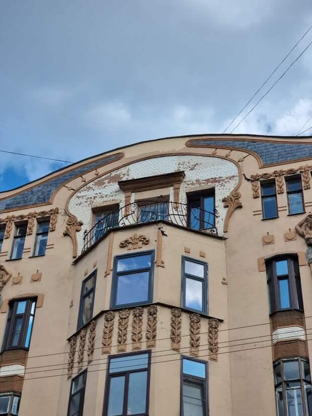 В полицию Петербурга заявили о расчленённых женщинах, части тел которых пропали с фасада