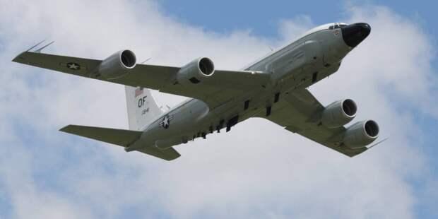 Самолет-разведчик RC-135W ВВС НАТО. Источник изображения: