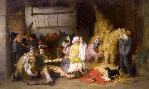 художник Фредерик Артур Бриджмен (Frederick Arthur Bridgman) картины – 49