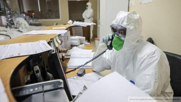 Воробьев навестил пациентов с коронавирусом в больнице Химок