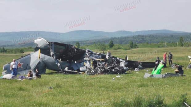 Число погибших при крушении самолета в Кузбассе возросло до девяти