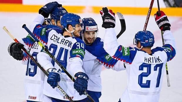 Два игрока сборной Словакии дисквалифицированы на один матч чемпионата мира