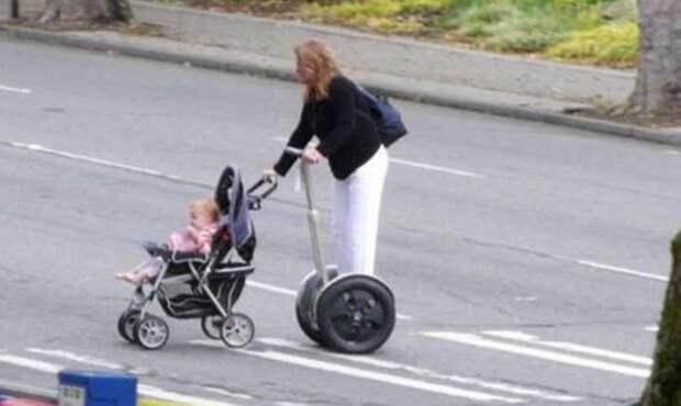 Изобретательность родителей не имеет границ дети, крутые родители, фото, юмор