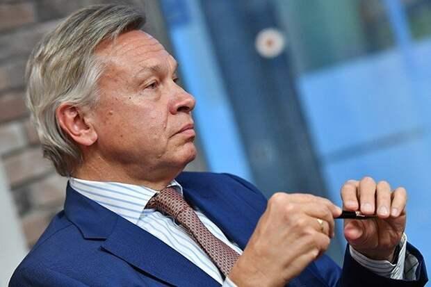 «Циничная игра»: Пушков оценил заявление о нападении России на Эстонию