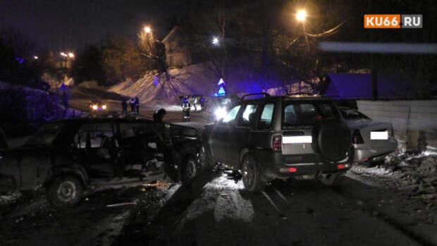 В Свердловской области произошло смертельное ДТП