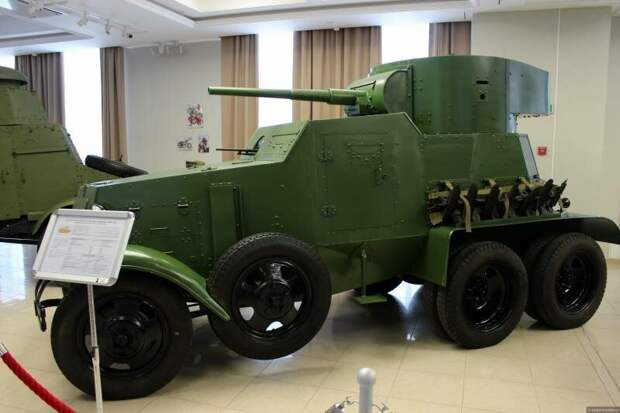 Рассказы об оружии. Колёсный танк БА-10 Ба-10, рассказы об оружии, страницы истории