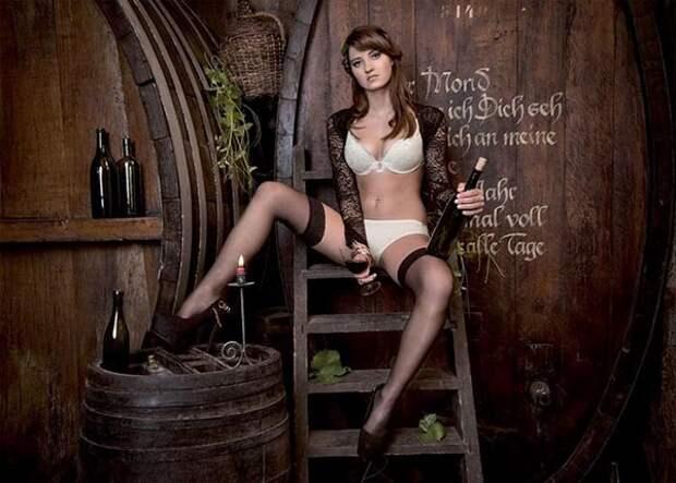 Сексуальлные швейцарские фермерши, календрь, фото 9