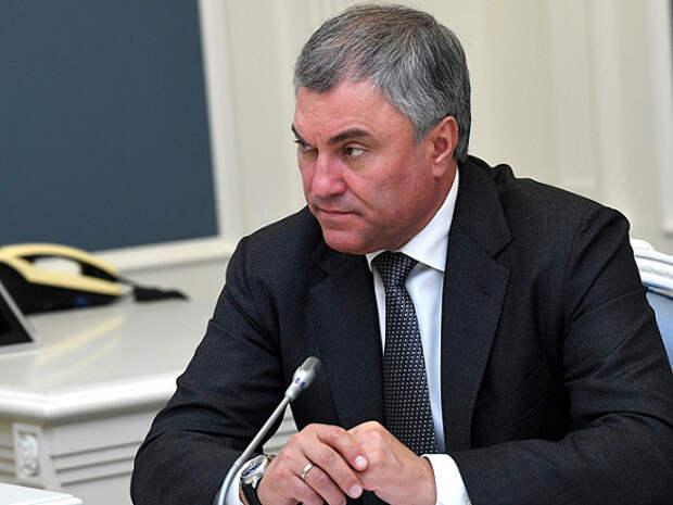 Володин призвал власти задуматься о просьбах россиян после атаковавшей его 90-летней пенсионерки