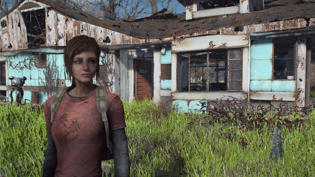Элли из The Last of Us нашли в Fallout 4