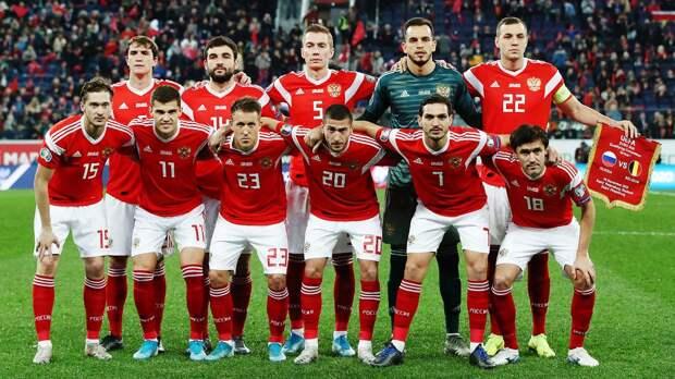 Сборная России сохранила за собой 39-е место в рейтинге ФИФА