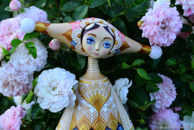 Цветочная фея. Волшебница.Кукла из дерева.Лия, Куклы, Сумы, Фото №1