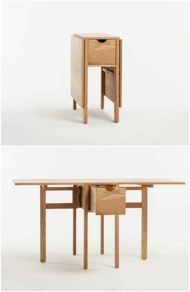 Отличные идеи функциональных столов для небольших помещений