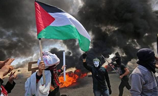 СМИ: ВИерусалиме около 200 палестинцев ранены входе уличных протестов