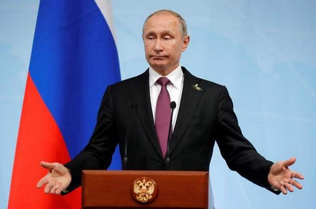 Putin-hands
