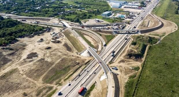 На трассе М-4 «Дон» проходит строительство двух мостов