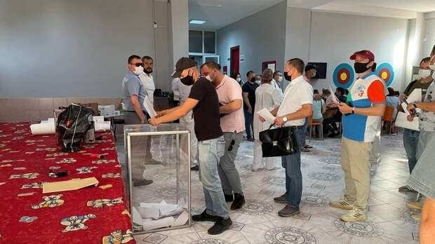 Находящиеся в Турции россияне приняли участие в выборах депутатов Госдумы