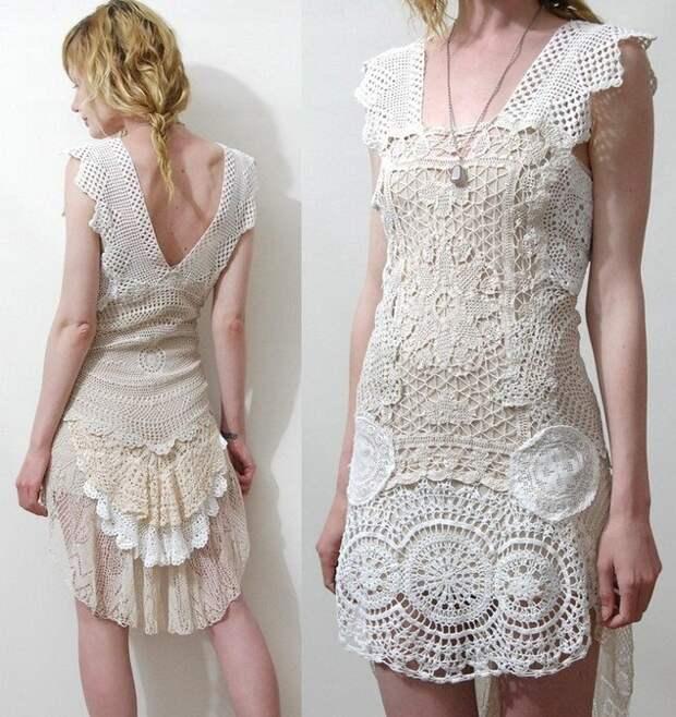 Платья из антикварного кружева