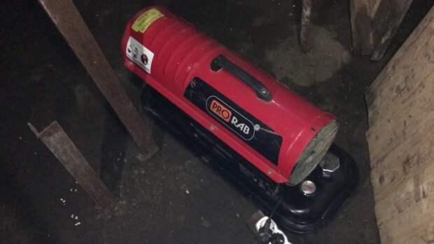Просушка погреба тепловой пушкой очень эффективна. |Фото: youtube.com.