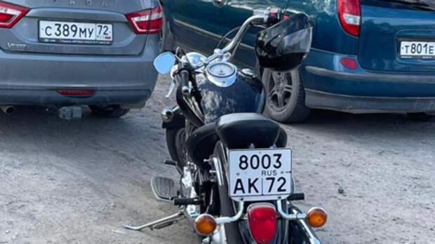 Мотоциклист изТюмени две ночи пытался скрыться отинспекторов мотовзвода ГИБДД