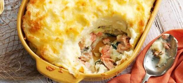 Рыбно-картофельная бабка