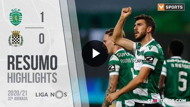 Highlights: Sporting 1-0 Boavista (Liga 20/21 #32)