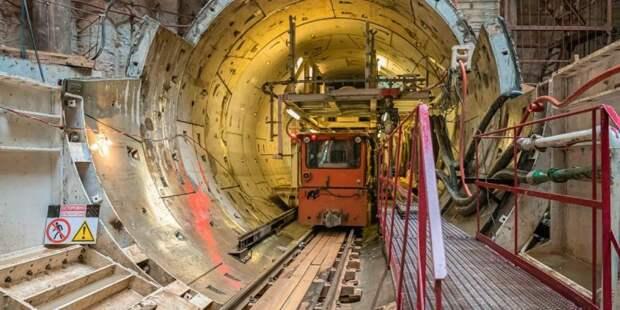 Собянин: Линия метро в район Северный будет полностью подземной. Фото: mos.ru
