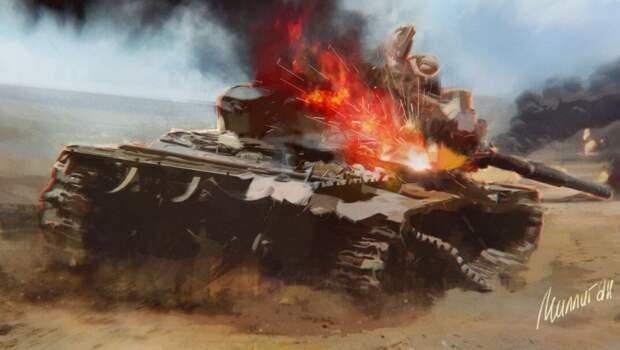 Неприятный инцидент с Т-90 неожиданно обернулся триумфом РФ